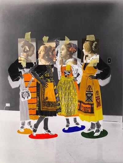 Rachel Libeskind, 'Negative Girls 2', 2020