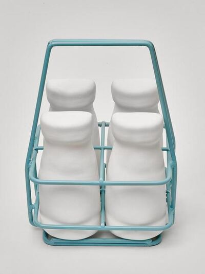 Simon Lewis-Wards, 'Milk Crate & Bottles', 2020