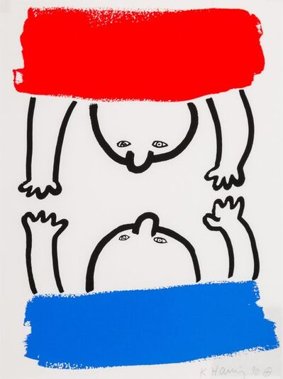Keith Haring, 'No.15, from The Story of Red and Blue', 1989-90