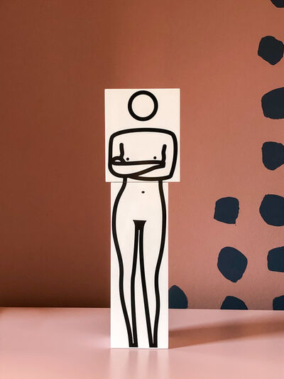 Julian Opie, 'Standing Arms Crossed', 2000