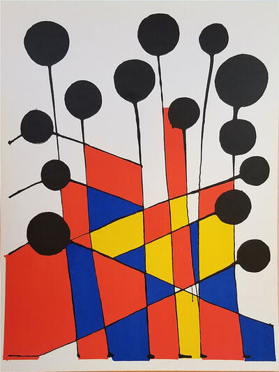 Alexander Calder, 'Jardin Fleuriste', 1971