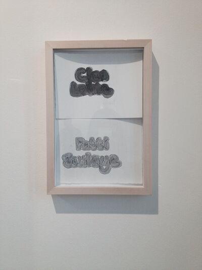 Sonia Boyce, 'Cleo Laine/Patti Boulaye', 2001