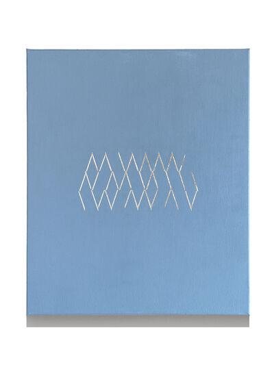 Isaac Chong Wai, '42 lines in silver', 2018