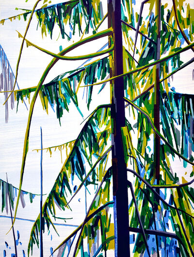 Claire Sherman, 'Trees and Water', 2018