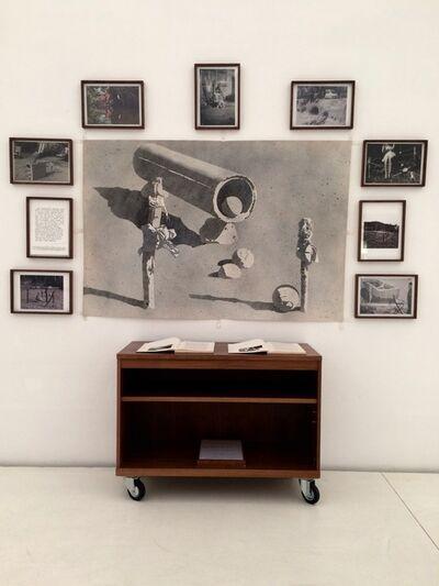 Jean Le Gac, 'LE DESERTEUR DE L'ART', 1968