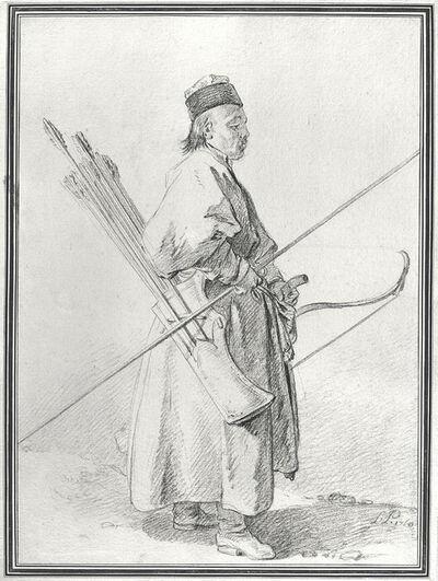 Jean-Baptiste Le Prince, 'Calmouk Archer', 1760