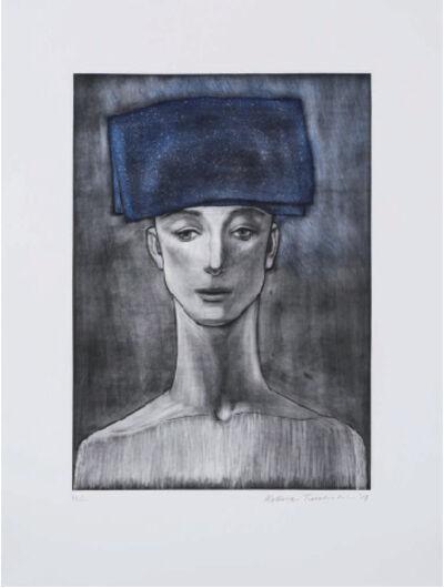 Katsura Funakoshi, 'Blue Coif', 2017