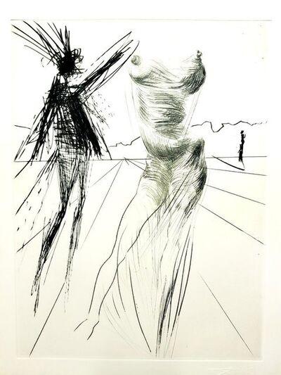 """Salvador Dalí, 'Salvador Dali - Sator, from """"Faust"""" - Original Etching', 1969"""