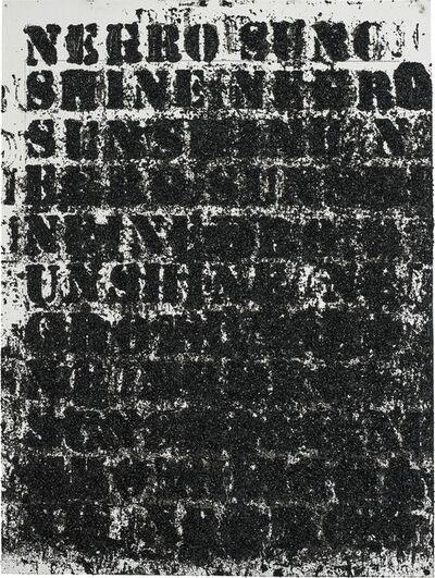 Glenn Ligon, 'Negro Sunshine #54', 2010