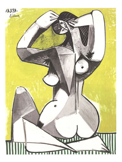 Pablo Picasso, 'Nu Accroupi', 2002