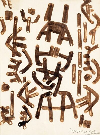 Giuseppe Capogrossi, 'Composition', 1966