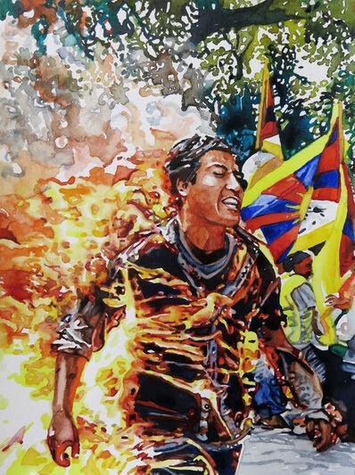 Conrad Ruiz, 'Man on Fire 5', 2019