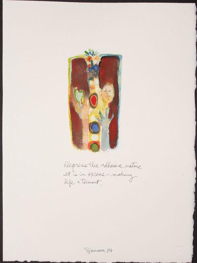 John Ransom Phillips, 'Depress the adhesive nature....', 2004