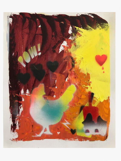 Alessandro Pessoli, 'Ardente Primavera #5', 2020