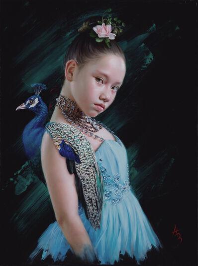 Alexandra Manukyan, 'Mayura (Peacock in Sanskrit)', 2021