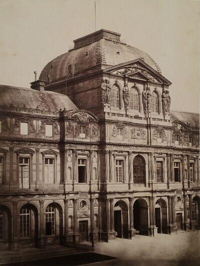 Édouard Baldus, 'Louvre, Pavillon Sully, Paris', ca. 1852