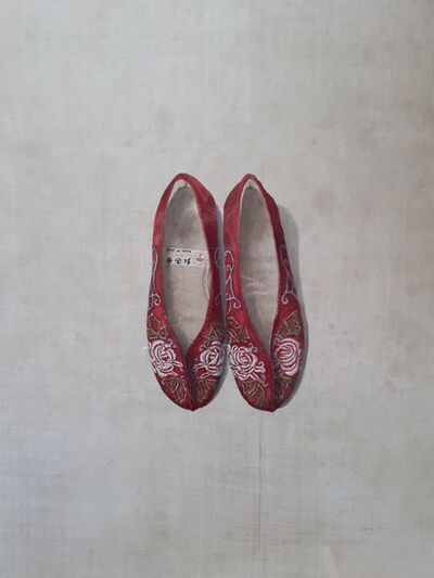 Cathy Ross, 'Red Slippers', 2019