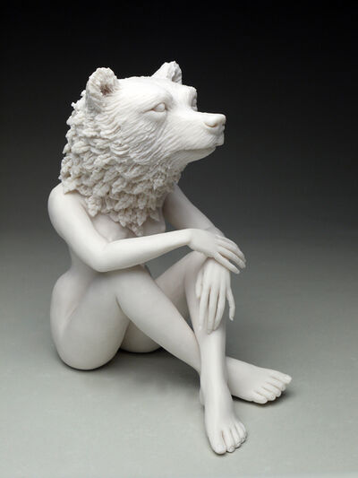 Crystal Morey, 'New Symbiosis: Brown Bear with New Growth ', 2017
