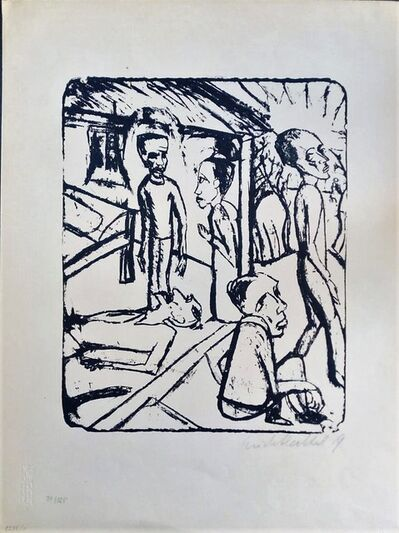 Erich Heckel, 'The Brothers Karamazov', 1919