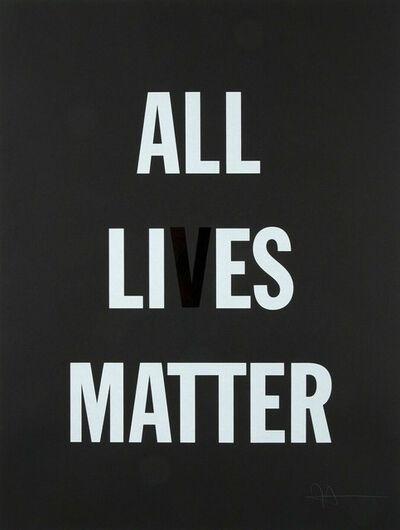 Hank Willis Thomas, 'All Li es Matter ', 2019