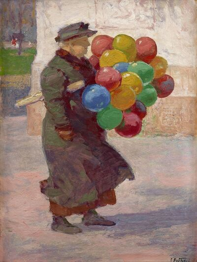 Edward Henry Potthast, 'Toy Balloons', 1912-1915