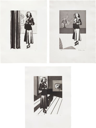 Richard Hamilton, 'Patricia Knight I; II; and III', 1982