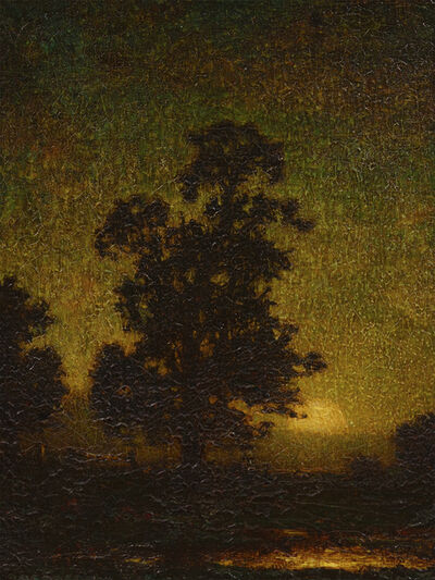 Ralph Albert Blakelock, 'The Rising Moon', Late 19th century