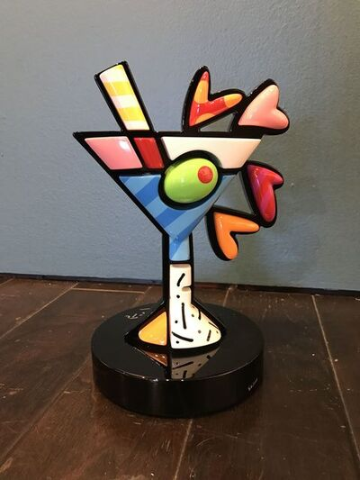 Romero Britto, 'Martini', 2015
