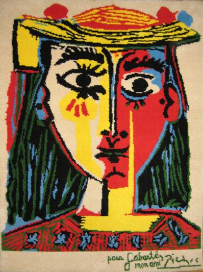 Pablo Picasso, 'Femme au chapeau a pompons et au corsage imprime ', 1994
