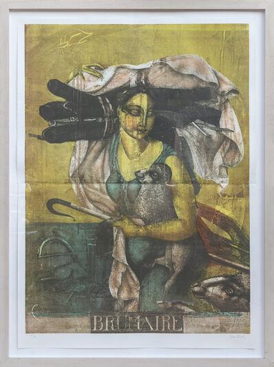 Paul Wunderlich, 'Brumaire', 1989
