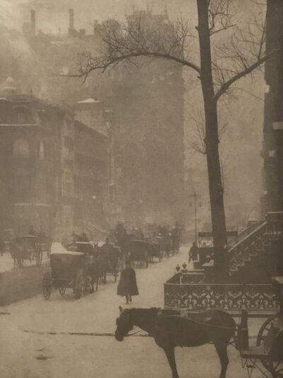 Alfred Stieglitz, 'The Street-Design for a Poster', 1903