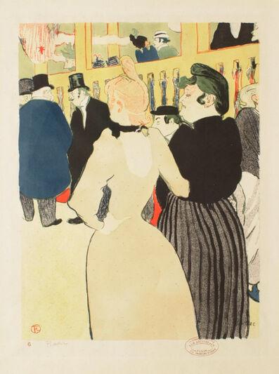 Henri de Toulouse-Lautrec, 'At the Moulin Rouge: La Goulue and Her Sister', 1892