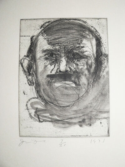 Jim Dine, 'Self portraits - The Dartmouth portraits (4)', 1975