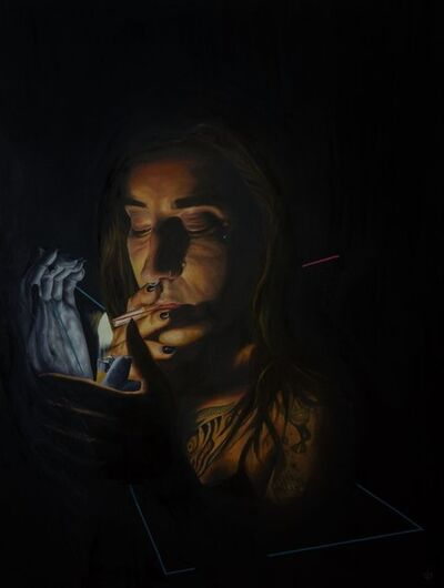 BakPak Durden, 'I NEED A LIGHTER', 2018