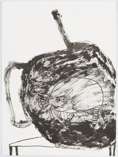 Pat Douthwaite, 'Female Cat In A Teapot', 1988