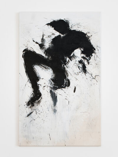 Richard Hambleton, 'Black Jumping Shadow on White', 2004