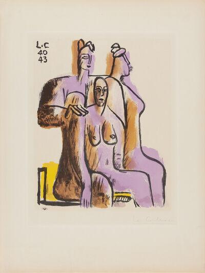 Le Corbusier, 'Trois Personnage Assis', 1950