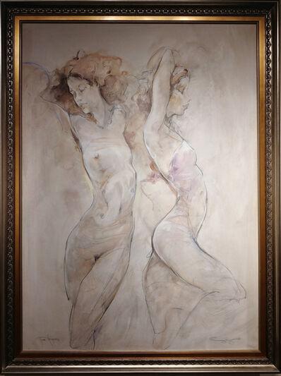 Jurgen Gorg, 'Two Figures', 2018