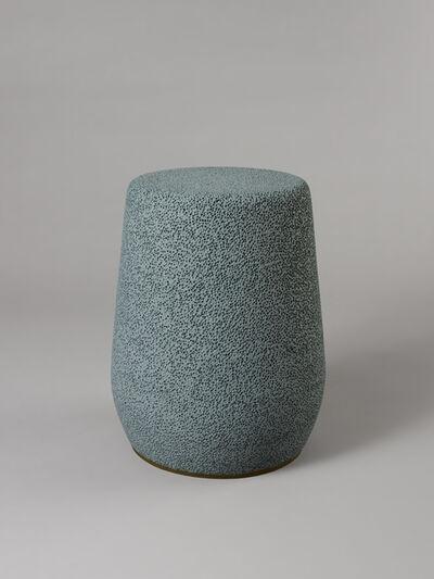 Djim Berger, ''Lightweight Porcelain' Stool and Side Table by Djim Berger - LP-22', 2020