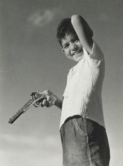 Arthur Rothstein, 'Boy with gun', ca. 1940