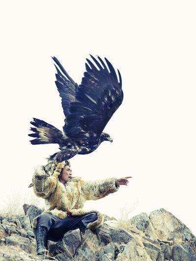 Lyle Owerko, 'Eagle Hunter 16', 2015