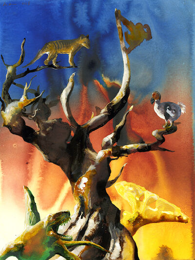 Alexis Rockman, 'Tree of Extinction ', 2018