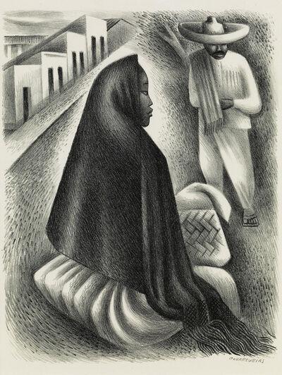 Miguel Covarrubias, 'Mexican Street Scene.', circa 1940