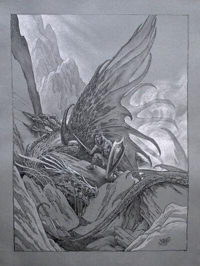 Stephen Hickman, 'Siegfried Study'