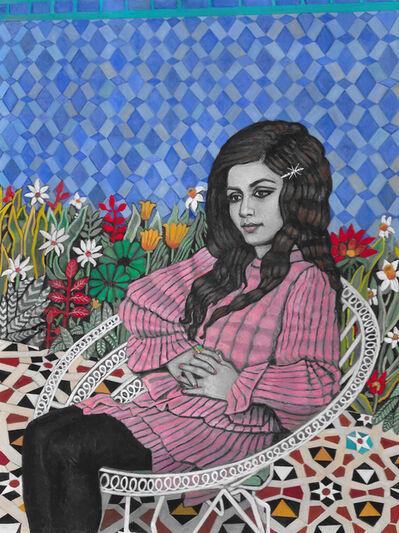 Soheila Sokhanvari, 'On The Other Side of Silence (Portrait of Googoosh)', 2021