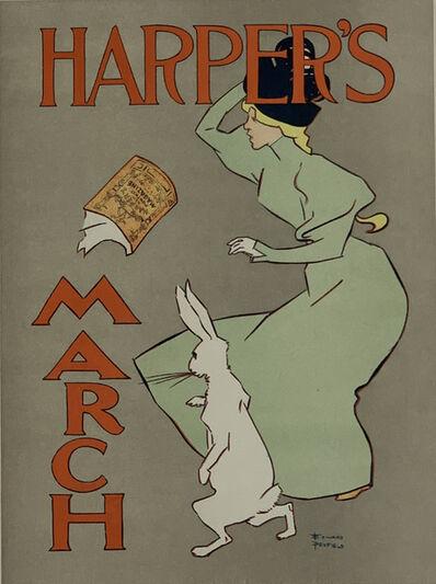 Edward Penfield, 'Poster for Harper's Magazine', April 1896