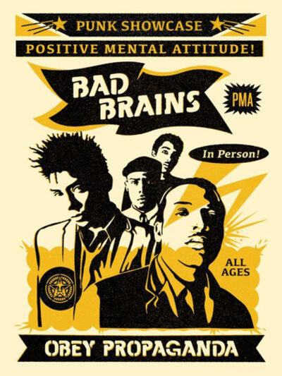 Shepard Fairey, 'Bad Brains', 2016