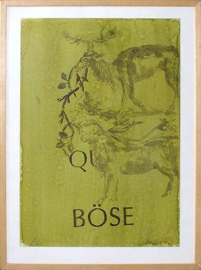 Hans Peter Adamski, 'Q Böse', 1989