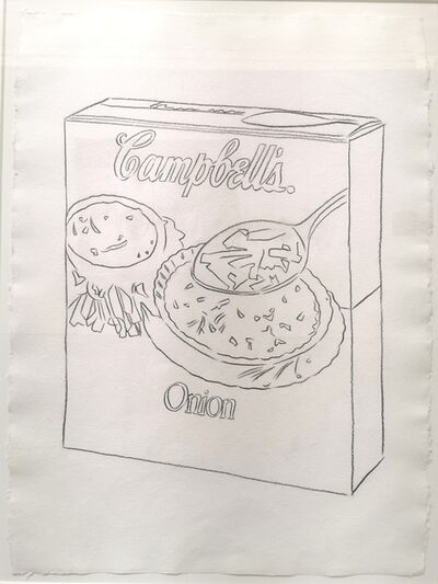 Andy Warhol, 'Campbell's Soup Box', 1986