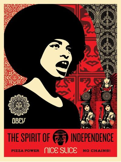 Shepard Fairey, 'Spirit of Independence', 2017